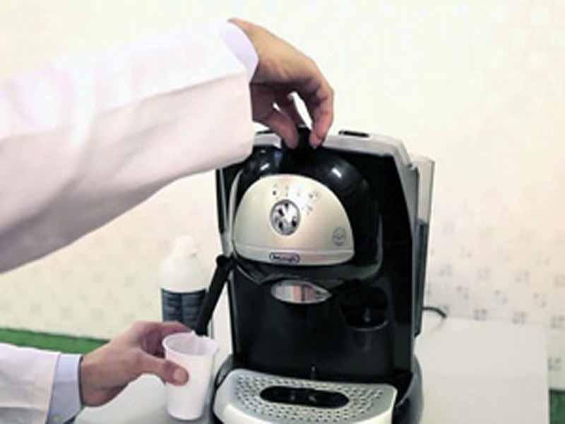 Macchina caffè espresso a cialde carta la piccola piccola